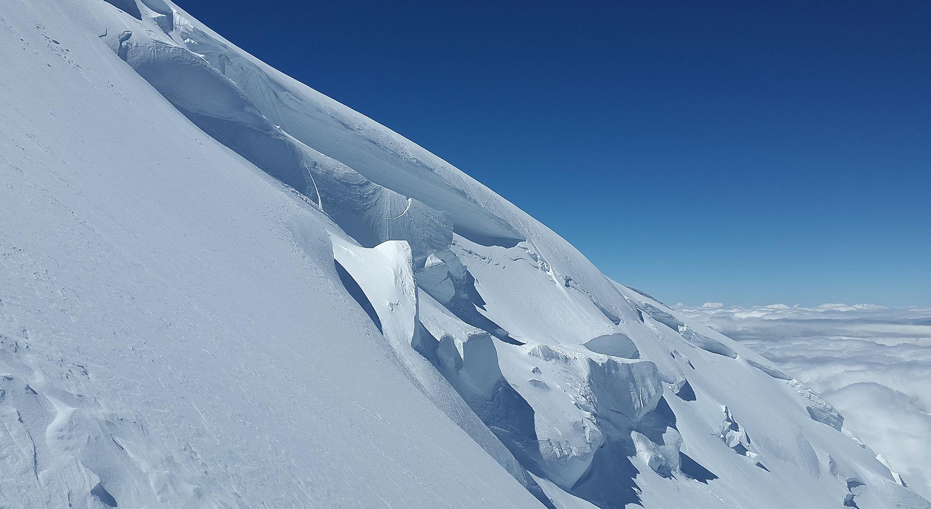 Monte Bianco dal rifugio Gonella - Xmountain Guide alpine